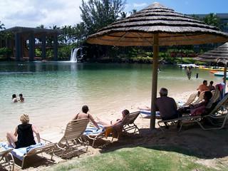 Image of Lagoon Beach. travel hawaii hotel hilton resort 2007 waikoloa hiltonwaikoloavillage