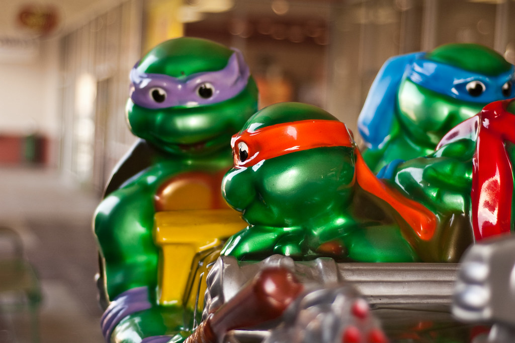 Mutant Turtles, Plasticized