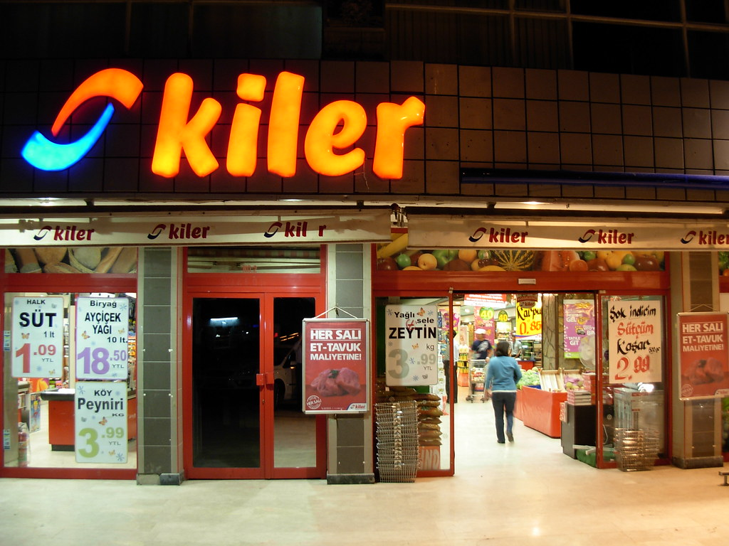 kiler Market in Ankara