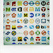 Metro Logos in the World! by masaaki miyara