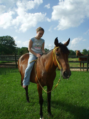 hannah & horse