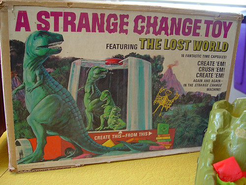 Strange Change Toy : The mattel strange change machine skullbrain