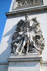 Paris: Arc de Triomphe de l'Étoile - La Paix de 1815