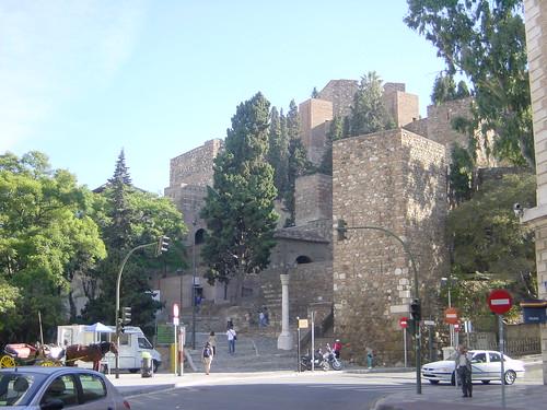 2002-10-26 11-15 Andalusien, Lissabon 013 Málaga, La Alcazaba