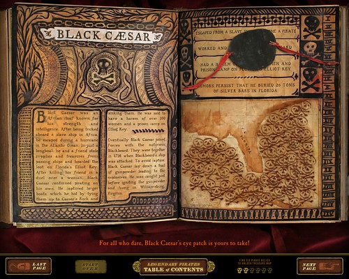 Legendary Pirates Book. After visitors unlock the clasps that keep the tome ...
