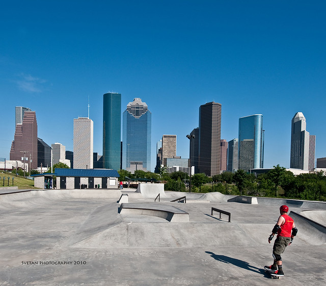 SKATING IN H-TOWN