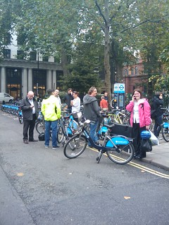 Borris bike scheme meltdown in Soho