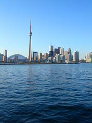 Toronto from Centre Island