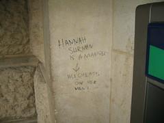 HANNAH SURMAN IS A MANGER! / ALI CHEATS ON HER MEN!