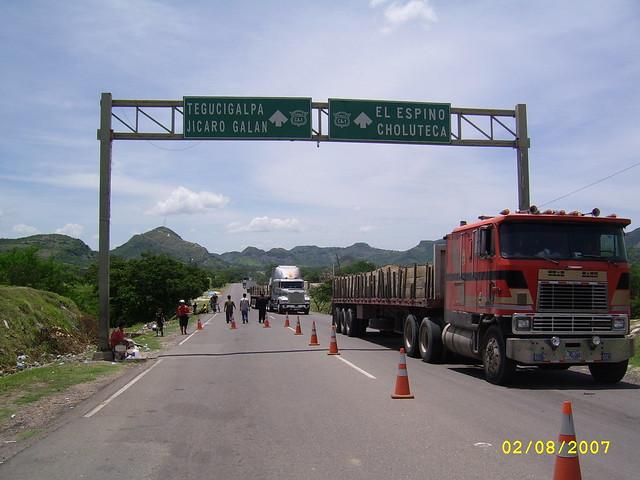 Frontera Honnduras El alvador