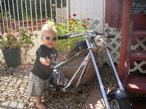Mohawk kid