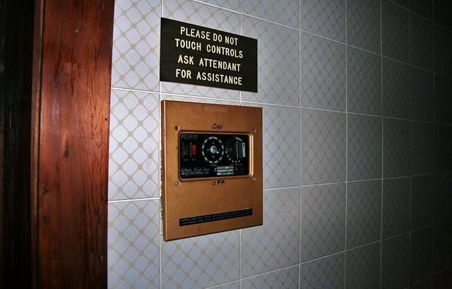 Customized sauna control  Flickr  Photo Sharing!