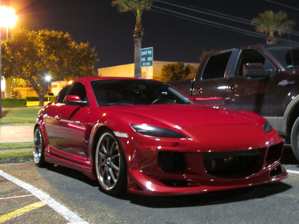 rx8 now has a body kit. Black Bedroom Furniture Sets. Home Design Ideas