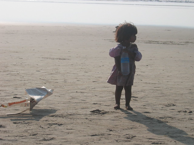 Girl on Arambol Beach1