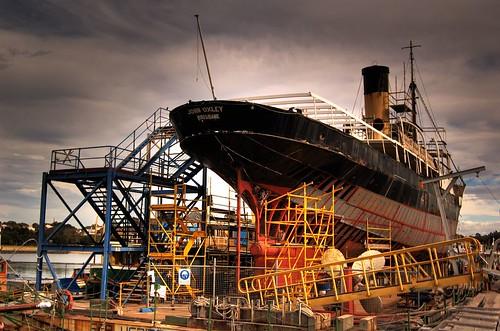 scaffolding ahoy