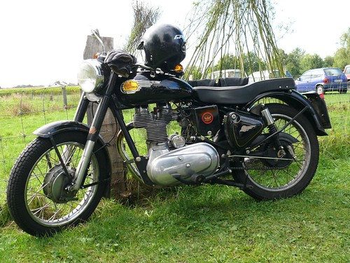Royal Enfield black