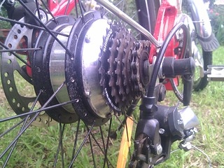 Electric Bike BLDC Hub Motor