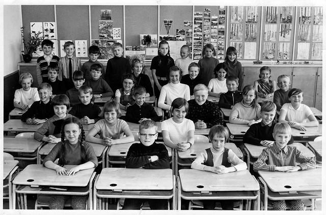 Una clase finlandesa