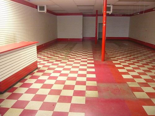 Empty Dollar Store by Tracy O