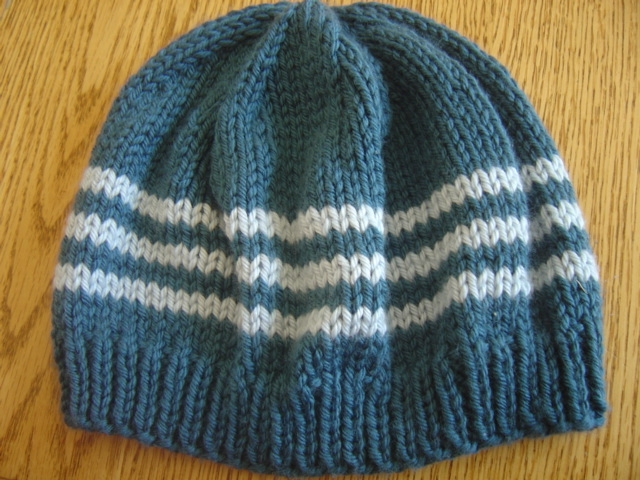 Knitting With Circular Needle : Knitting patterns for hats without circular needles