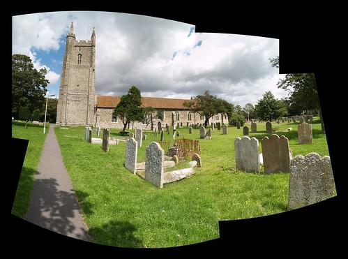 Lydd Church, Southern Aspect