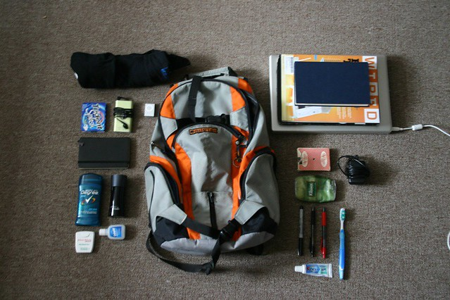 Contents of my Bag.JPG by ahhhnice, on Flickr