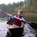 Cardboard canoeing
