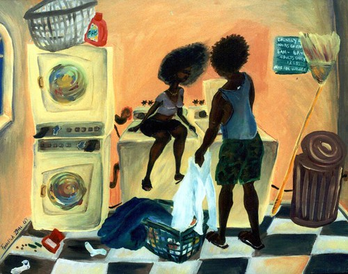 Lovers Doin' Laundry
