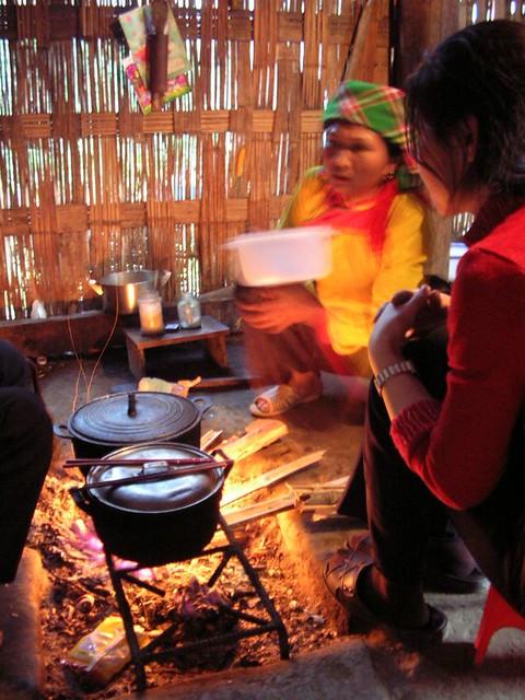 Ta Van Village local food