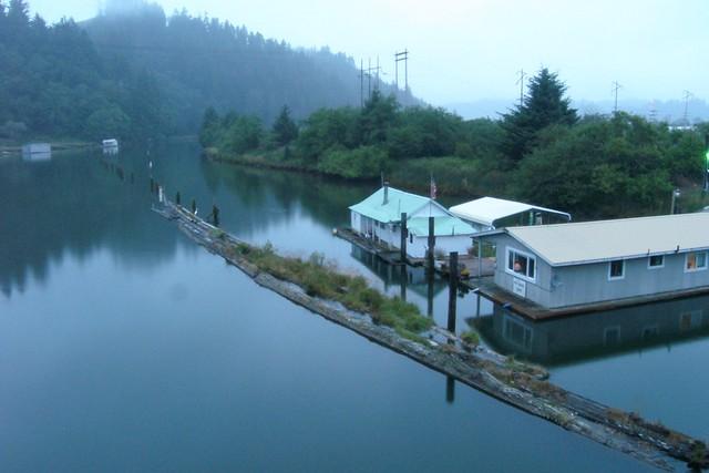 Reedsport Oregon House Boats Gregory Euclide Flickr