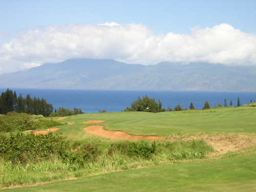 View of East Molokai Mountains from Kapalua