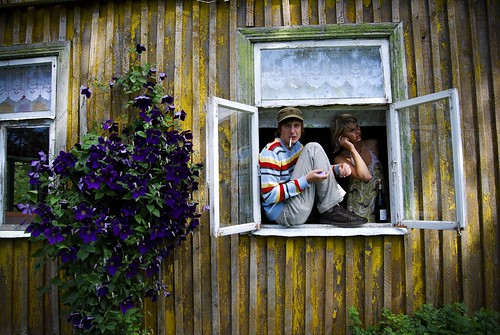 At the window by Veiko Tubin