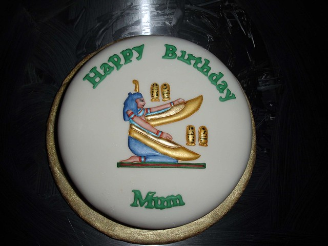 Egypt Birthday Cakes http://www.flickr.com/photos/12118804@N02/1269838688/