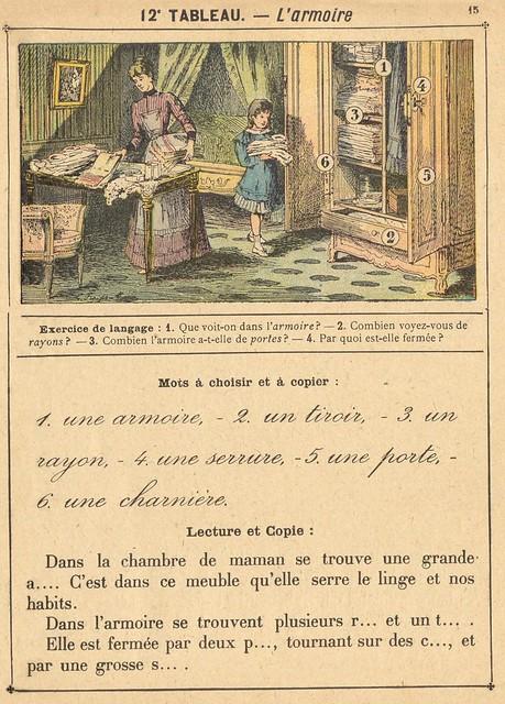 vocab 12 armoire