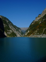 Stausee Gigerwald - Vättis Schweiz