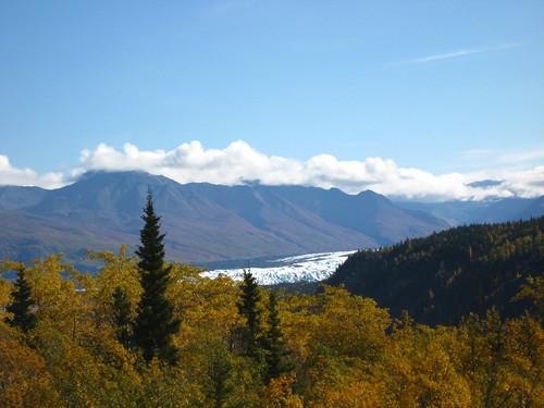 Matanuska glacier from afar