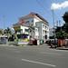 Gedung-gedung di Jl. Sudirman : Typical buildings along Sudirman Street. Photo credit by Ardian