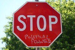 STOP POLITICAL POWER