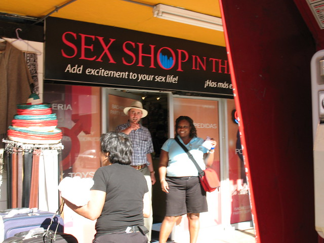 tijuana sex shop. not that interesting
