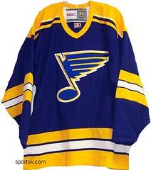 Vintage St. Louis Blues hockey jersey  b48c0cd936d