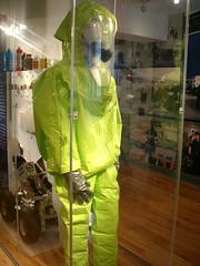 clothing, hazmat suit, green,