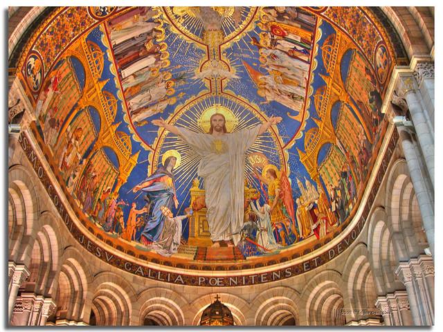 Dome du Basilique du Sacre-Coeur