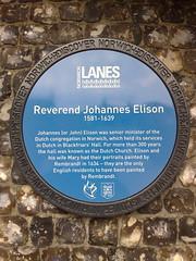 Photo of Johannes Elison blue plaque