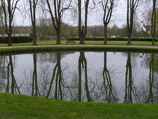Royaumont pond