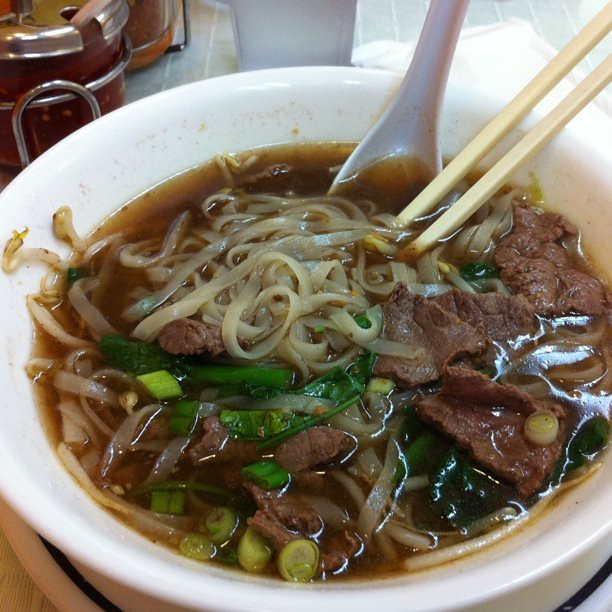 Thai beef noodle soup | Flickr - Photo Sharing!