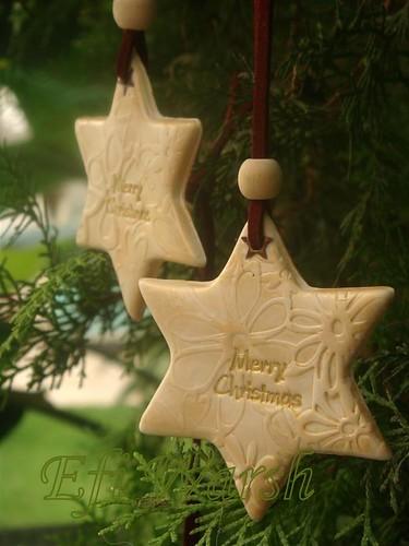 Bright Star Ornament,Christmas tree decoration,