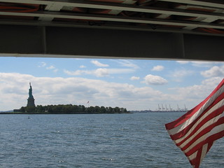Ferry from Ellis Island