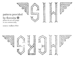 walkers 33 - monograms