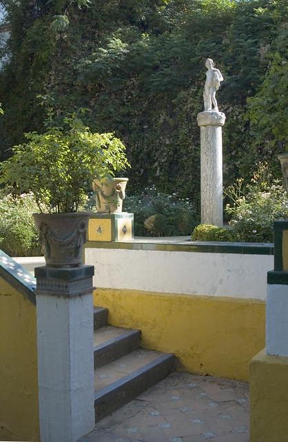Encuadre en el jard n chico casa de pilatos sevilla for Jardin chico casa