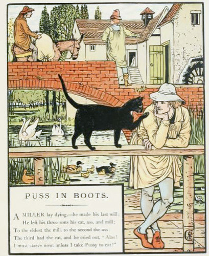 puss in boots puss in boots by walter crane by